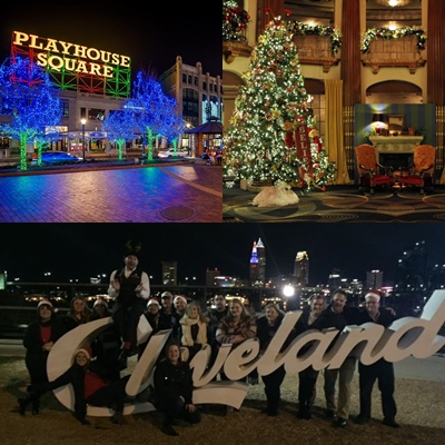 Holiday Lights Tour - Chrystal Tours at Playhouse Square and the Jack Casino