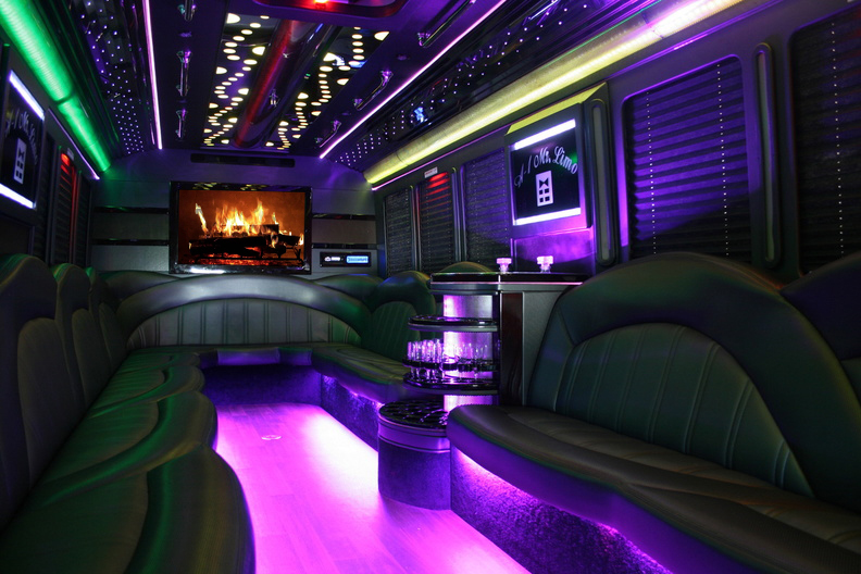 Limocoach Party bus - Holiday Light Tours