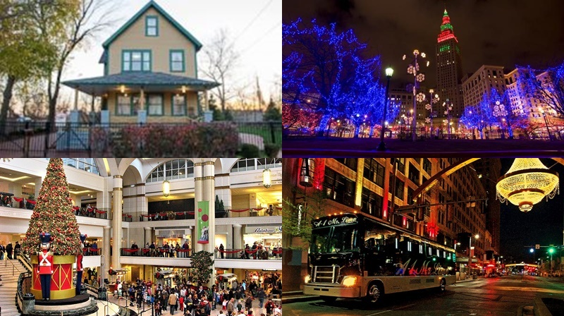 Cleveland Holiday Light Tours from Chrystal Tours